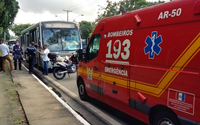 Sete pessoas são resgatadas após acidente com dois ônibus na Fernandes Lima