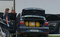 Carro do PM passou por perícia nesta sexta