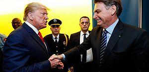 Bolsonaro parabeniza Trump e os EUA pelo dia da independência