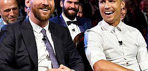 Fase de grupos da Liga dos Campeões terá duelo entre Messi e Cristiano Ronaldo