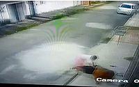 Vídeo: mulher é presa após atacar irmão com facada