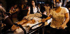 Chega a 12 o número de mortes provocadas pelo incêndio no hospital Badim