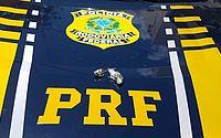 PRF detém motorista por porte de droga para consumo na BR-101