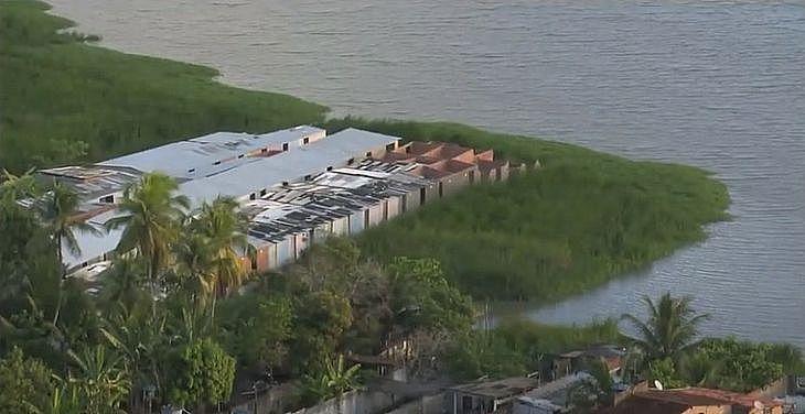 Avanço da Lagoa Mundaú, em Maceió, chamou a atenção do Instituto do Meio Ambiente