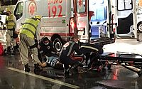 Mulher fica ferida após ser atropelada por moto em Pajuçara