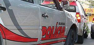 Jovem tenta roubar arma de PM durante abordagem e acaba baleado em Maceió
