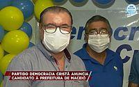 Cícero Almeida é candidato à Prefeitura de Maceió pelo DC