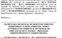 Prefeitura corrige Diário Oficial e diz que não autorizou extração de sal-gema em Maceió