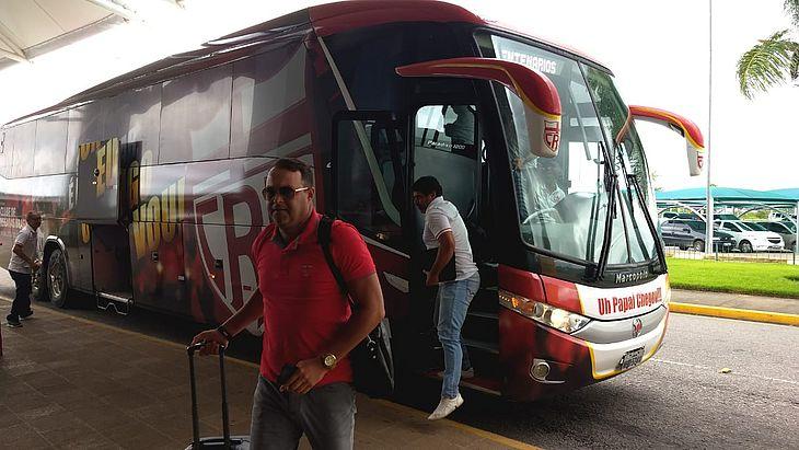 Delegação do CRB embarcou para Brasília nesta tarde