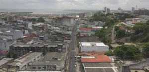 Coronavírus: imagens áreas mostram Maceió 'deserta' em plena segunda-feira