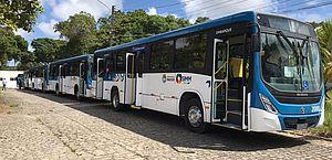 Sistema Integrado de Mobilidade de Maceió recebe seis novos ônibus