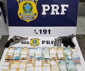 Homens são presos com armas e mais de 80 mil do jogo do bicho no interior de AL
