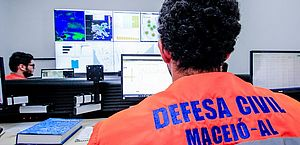 Defesa Civil está em atenção e monitora chuvas em Maceió