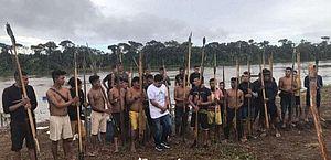 Garimpeiros atiram contra equipe da PF que apurava ataque a yanomamis