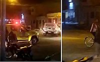 PM dispersa aglomeração e usa balas de borracha para evitar agressão a jovem no Vergel