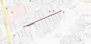 Avenida Rotary será parcialmente interditada para obras de saneamento