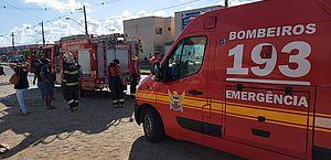 Explosão em apartamento deixa idosa ferida na parte alta de Maceió