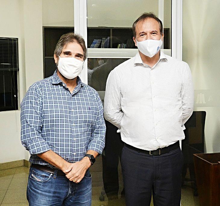 Jubson Uchôa e Marcelo Raposo Saldanha