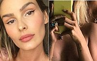 Yasmin Brunet choca fãs com foto ousada ao lado do namorado