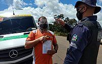 Mais de mil veículos são abordados na 1ª semana após retorno do transporte intermunicipal