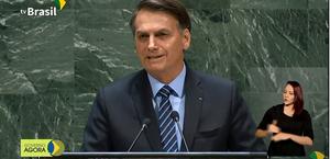 Bolsonaro discursa na 75ª Assembleia Geral da ONU
