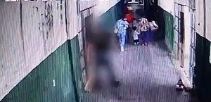 Vídeo: bebê e criança circulam por corredores de penitenciária no Piauí
