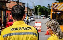 Agentes estarão no local orientando motoristas