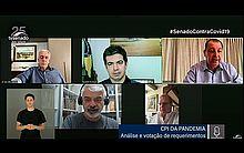CPI da Pandemia ouvirá vítimas da covid e representante do Conselho Nacional de Saúde