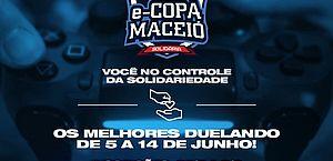 Prefeitura abre inscrições para e-Copa Maceió Solidária