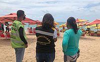 """""""Mar Azul"""": operação orienta população e comerciantes da orla marítima no sábado (31)"""