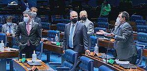 Senado aprova PEC Emergencial em 1º turno; proposta viabiliza auxílio emergencial