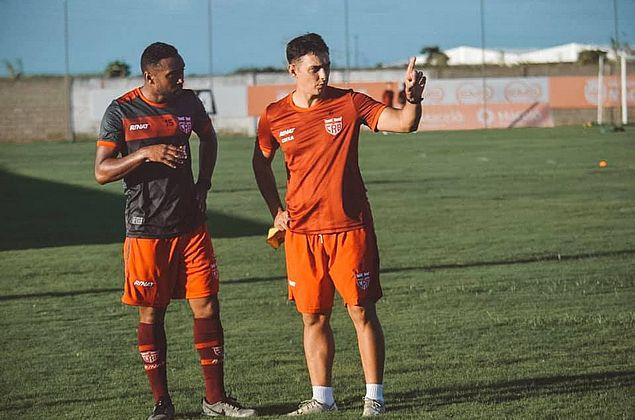"""Claudinei se prepara para decisão do CRB diante do Jaciobá: """"Lutaremos"""""""