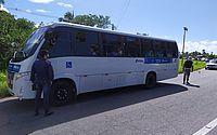 Arsal aborda 2.196 veículos no retorno do transporte intermunicipal