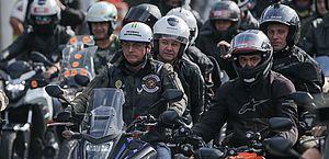 Operação de segurança de motociata com Bolsonaro custa R$ 1,2 milhão, diz Governo de SP