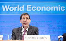 Economista-chefe do FMI, Maurice Obstfeld.