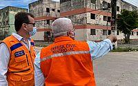 Instabilidade de solo: secretário nacional visita áreas afetadas em Maceió