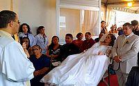 Michele e Edson se casaram na tarde deste sábado em Maceió