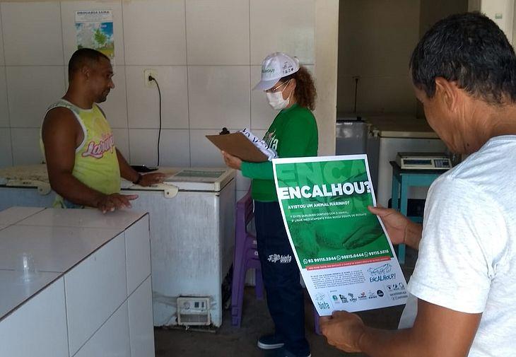 Campanha do Biota teve início nesta quinta-feira, em Maragogi