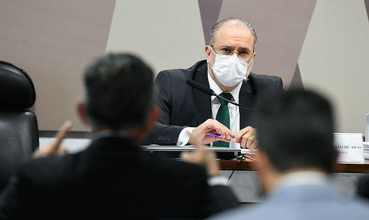 Augusto Aras na PGR