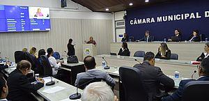 Câmara promulga lei para instalação de câmeras, captação e divulgação de imagens de assaltos em coletivo urbanos