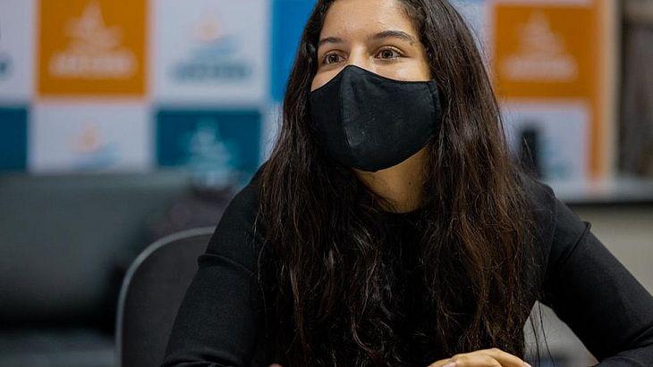 Ana Júlia de Carvalho é a única estudante da América Latina no Global Student Prize