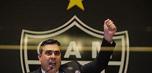 Presidente do Atlético-MG quer linha de crédito do governo para os clubes
