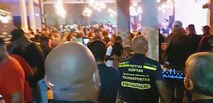Prefeitura de São Gonçalo interrompe pagode com mais de mil pessoas