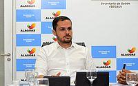 Secretário de Saúde de Alagoas, Alexandre Ayres, testa positivo para Covid