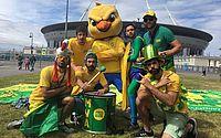 Com música de Alceu Valença, 'torcida organizada' da Seleção volta para Copa América