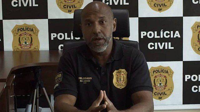 O delegado Ricardo Viana, chefe da 6ª DP, está à frente das investigações sobre o grupo que induzia ao auto-extermínio