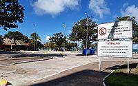 Prefeitura ordena vagas de estacionamento nos bolsões da orla. Espaços receberam novas sinalizações