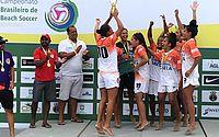 Meninas levaram campeonato brasileiro de Futebol de Areia
