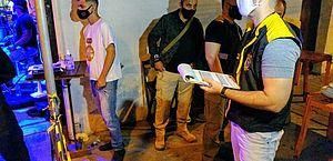 Fiscalização aconteceu em bares da parte alta de Maceió nessa sexta-feira (15)