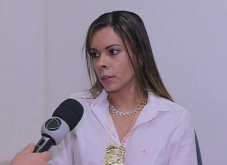 Delegada Adriana Gusmão